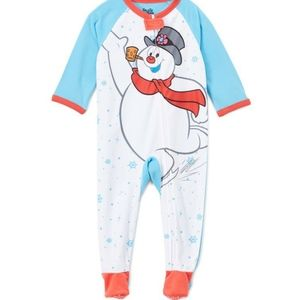 NWT, Frosty the Snowman Footies